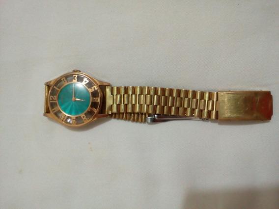 Antiguidade Relógio Vênus 17 Rubi Modelo Beta A Corda