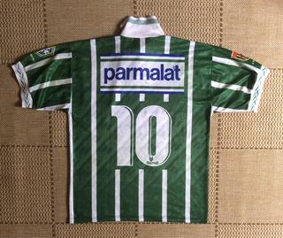 Camisa Original Palmeiras 1994 Home #10 Rhumell Parmalat