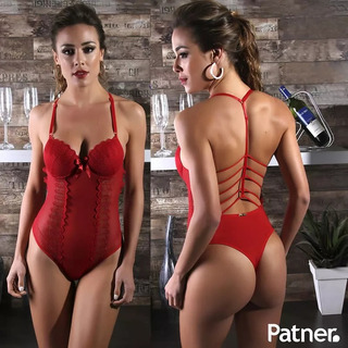 Ligerie Vermelha Conjunto Feminino Sensual Bojo Suellen