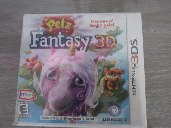Petz Fantasy 3d Para Nintendo 3ds