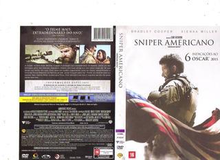 Dvd Sniper Americano, Filme Clint Eastwood, Guerra Original