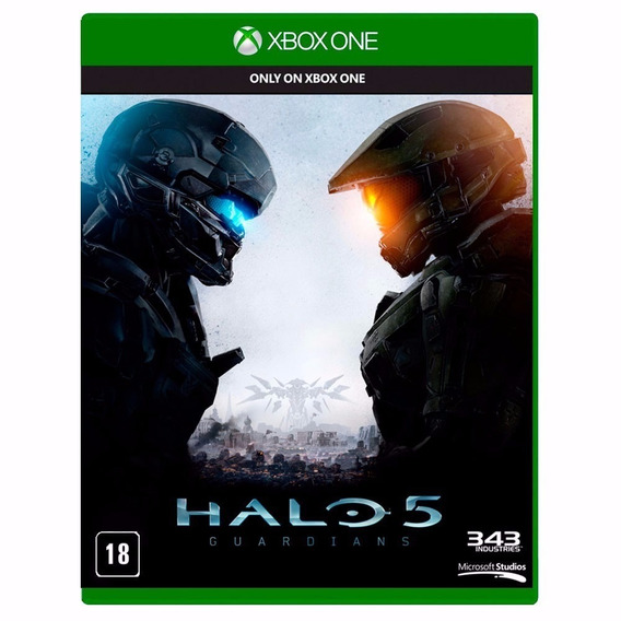 Halo 5 Guardians Xbox One Usado, Mídia Física Zeradinha...