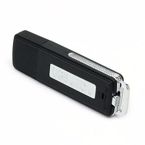 Imagen 1 de 4 de Mini Grabadora De Voz Espia Microfono 8 Gb Usb