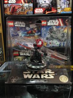 Star Wars Darth Maul Donald Disney Star Tours Bobble Head