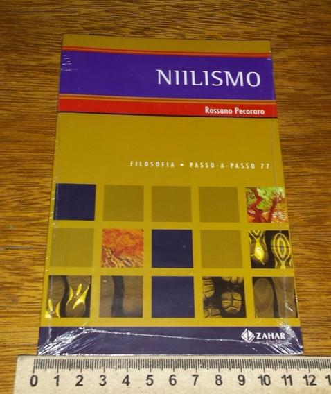 Niilismo Da Coleção Filosofia Passo Passo Livro Novo