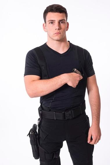 Remera Tactica Cover Cop Spy Para Portacion Oculta Sobaquera Manga Corta