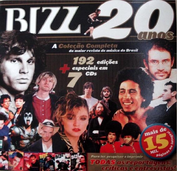 Revista Bizz 20 Anos - Coleção Com 192 Edições