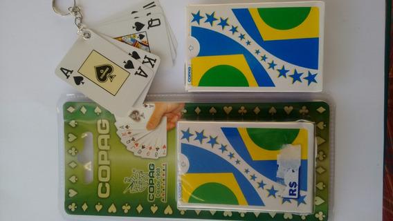 2 Jogos De Baralhos Da Copa Do Mundo+ Chaveiro