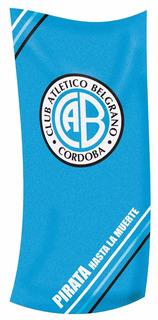 Toallon Belgrano Algodon Premium Lic. Oficial Toalla Pileta