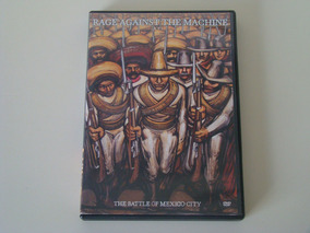 Dvd - Rage Against The Machine - The Battle Of Mexico City