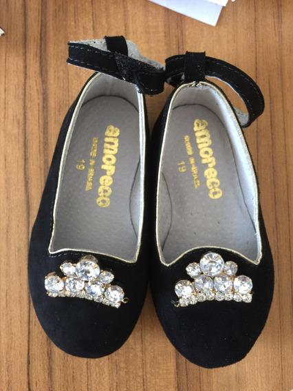 Sapato Amoreco Preto