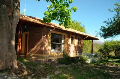 Hermosa Casa / Cabaña En Cerro De Oro, Merlo, San Luis