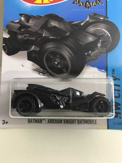 Hot Wheels Batman Arkham Knight Batmobile - Preto
