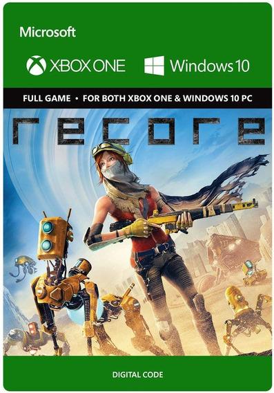 Recore - Xbox One/windows 10 Digital Codigo 25 Digitos