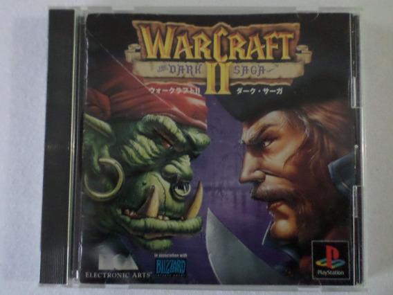 Warcraft 2 The Dark Saga Playstation 1 Original Japones