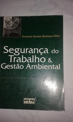 Segurança Do Trabalho E Gestão Ambiental .edição Antiga.