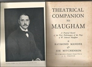 Theatrical Companion To Maugham