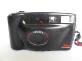Câmera Máquina Fotográfica Antiga Yashica Dx M800 Coleção