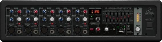 Mezcladora Amplificada 500 Watts Activa Behringer Pmp550m