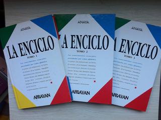 Enciclo Enciclopedia Arrayan Los 3 Tomos
