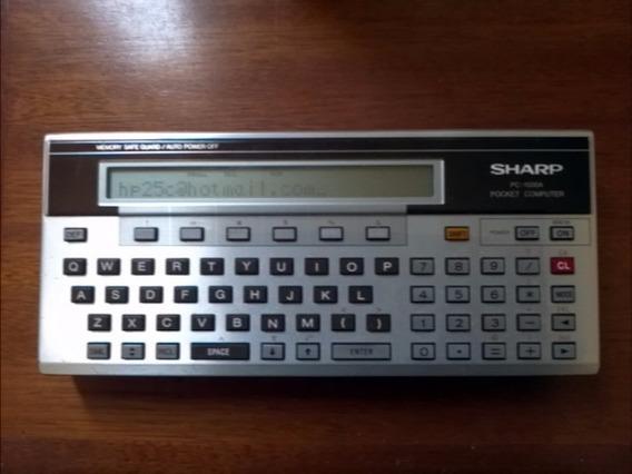 Calculadora Sharp Pc-1500a ( Apple Msx Hp41 Texas Ti )