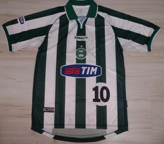 Camisa Away Do Coritiba 2001 Penalty Tim #10 Tamanho G