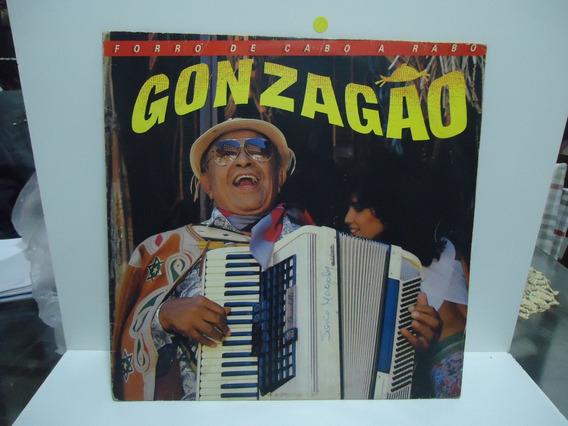 Lp Luiz Gonzaga Forró De Cabo A Rabo Selo Rca 1986