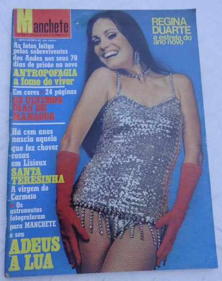 Manchete Nº 1082: Regina Duarte - Sobreviventes Andes - Lua