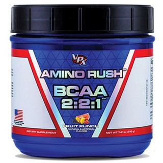 Amino Rush Bcaa 2:2:1 - 228g - Vpx - Ponche De Frutas