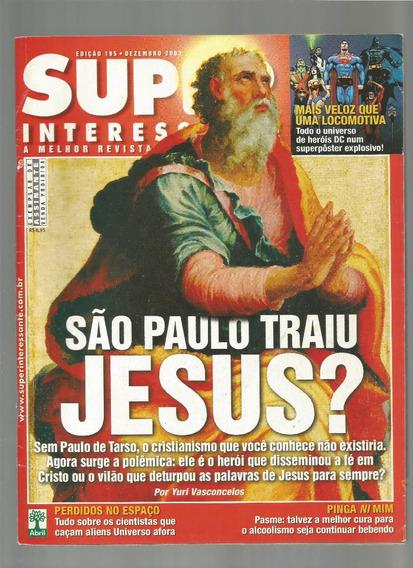 Revista Super Interessante Jesus Ed.195 Dezembro 2003