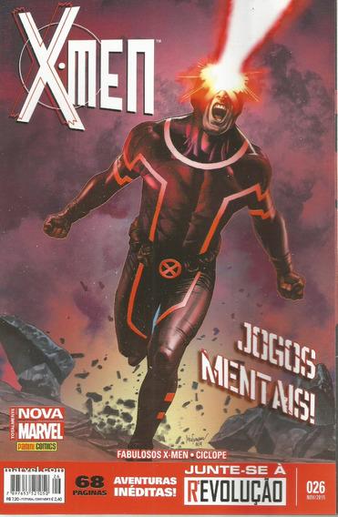 X-men 26 2ª Serie Nova Marvel - Panini - Bonellihq Cx147 B18