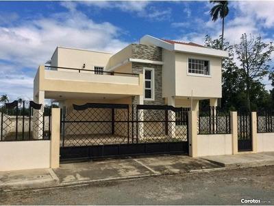 Casa En Residencial Esmeralda La Vega Financiamiento Disponi