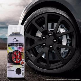 Spray Envelopamento Liquido Preto Fosco 400ml Au420