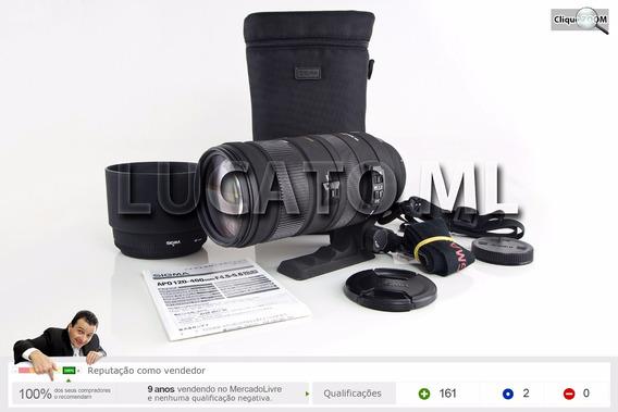 Lente Zoom 120-400mm Sigma Apo Dg Os Hsm Af P/ Canon Ef | Sj