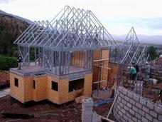 Construccion De Casa En Metalcom Ampliaciones Radier Techo