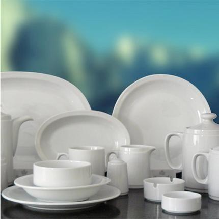 Fuente De Servicio Oval Tsuji 30 X 20 Cm Porcelana Ss