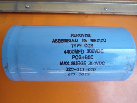 Capacitor Aerovox 4400uf 300vdc