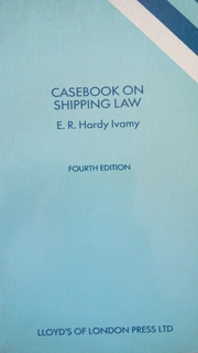 Casebook On Shipping Law