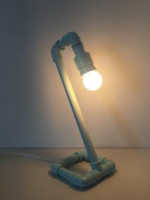 Luminária De Cano Pvc Cisne