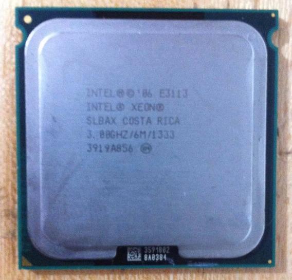 Processador Intel Xeon E3113 6m Cache 3.00ghz 1333mhz Slayk