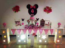 Alquiler De Mob Candybar Con Luces Agencia Gloob Festejos