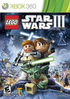 Lego Star Wars Iii: The Clone Wars Xbo 360 Original Nuevo