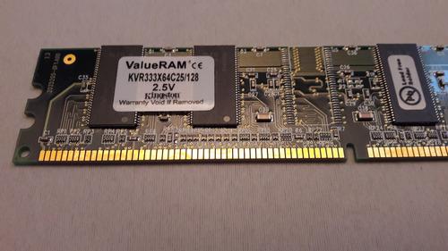 Memoria Kingston 128mb 333mhz Kvr333x64c25