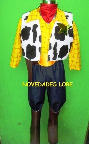 Disfraz D Woody Toy Story Con Botas Y Sombrero