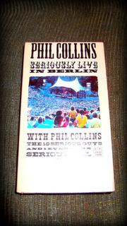 Vendo Concierto Vhs De Phil Collins Live In Berlin Original