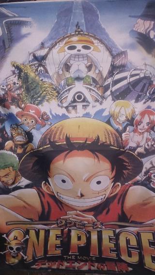Poster De Tela One Piece 1,00 Mts X 0;75 Mts Z Devoto