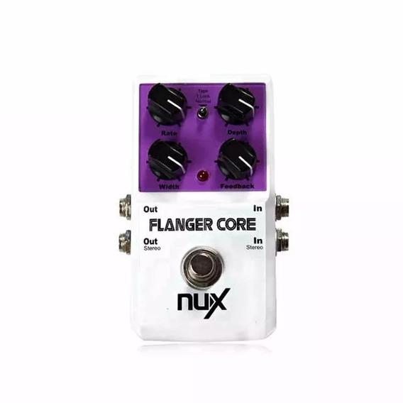 Pedal Nux Flanger Core + Nf E Garantia Oferta!