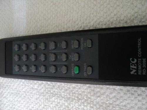 Control Remoto Para Tv Nec Rd 309e Funcionando