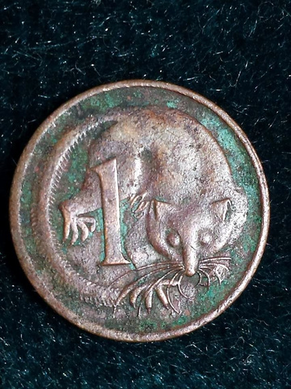 Moneda Australia 1971 2 Cents Ref P10-42