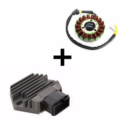 Estator Completo + Regulador Retificador Cbx 250 Twister